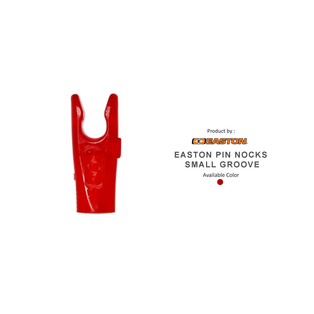 EASTON PIN NOCKS SMALL GROOVE