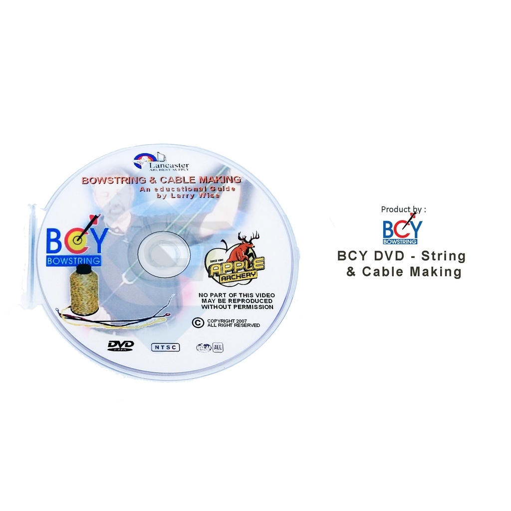BCY DVD - STRING & CABLE MAKING