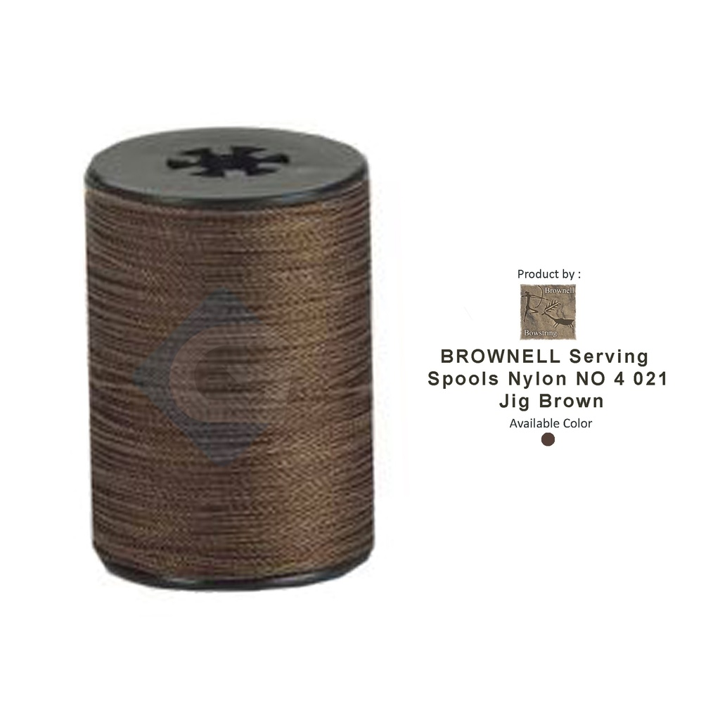 BROWNELL SERVING SPOOLS NYLON NO 4